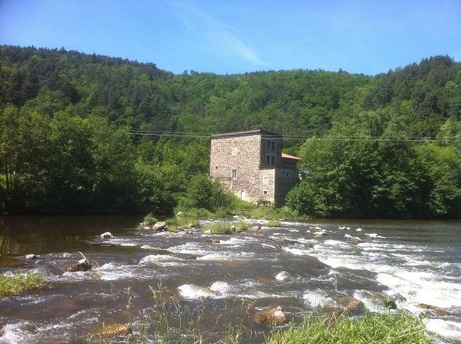 Moulin de loin